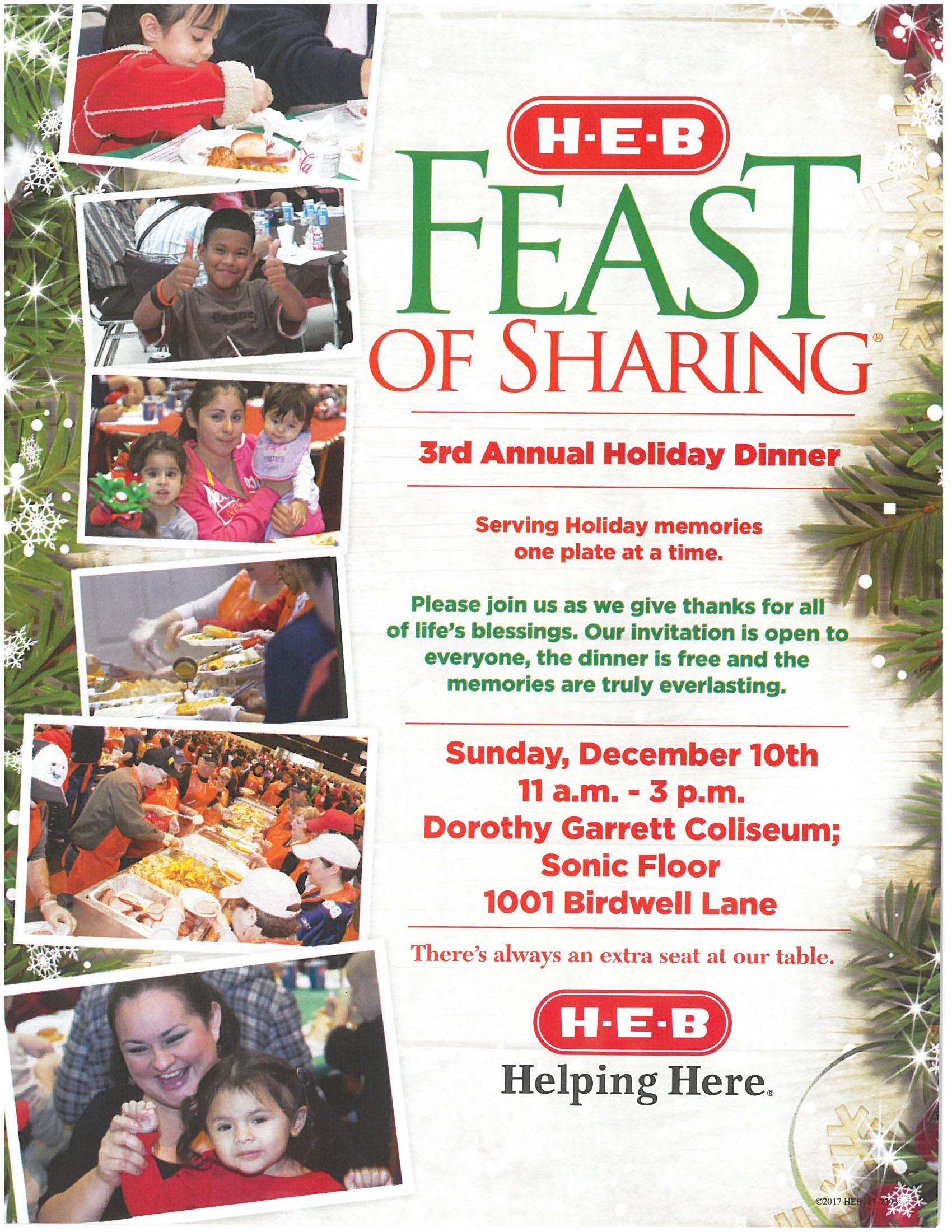 HEB Feast of Sharing 2017