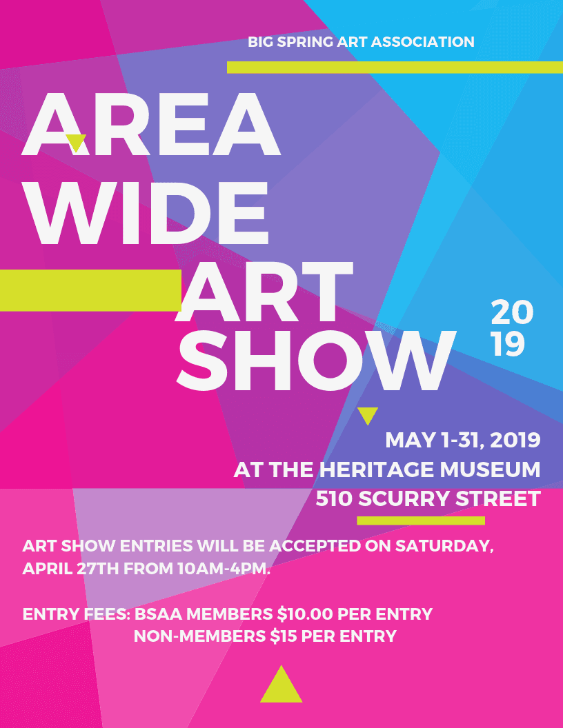 BSAA Area Wide Art Show