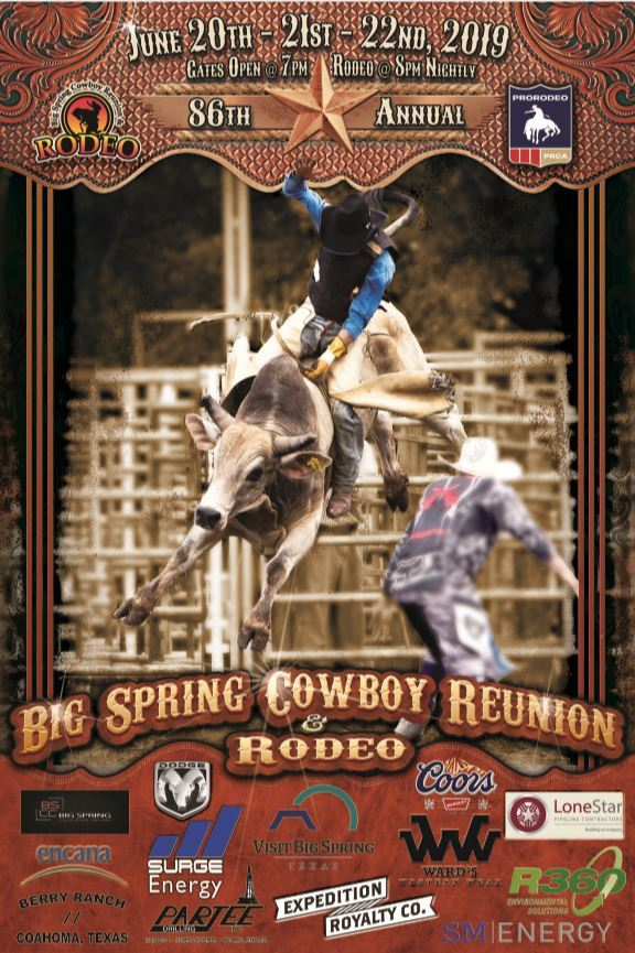 2019 Rodeo Event Poster