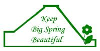 Keep Big Spring Beautiful Logo