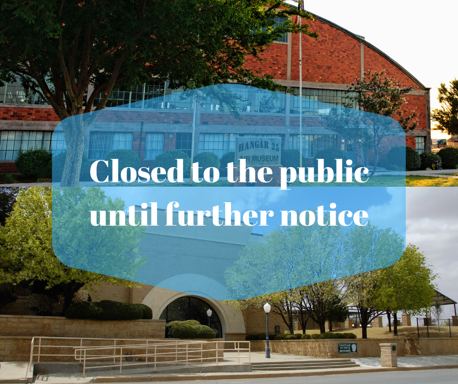 Closed to the public until further notice